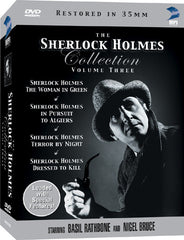 Sherlock Holmes DVD Collection Volume 3, The - Box Art