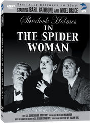 Sherlock Holmes and the Spiderwoman - Box Art