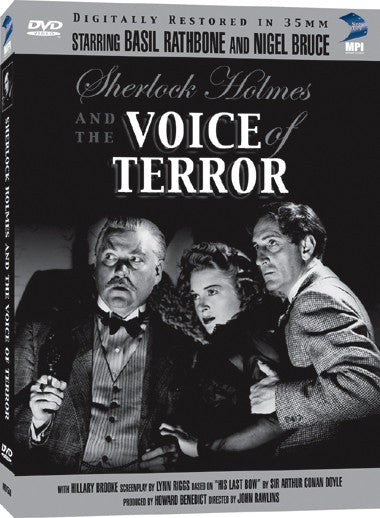 Sherlock Holmes and the Voice of Terror - Box Art