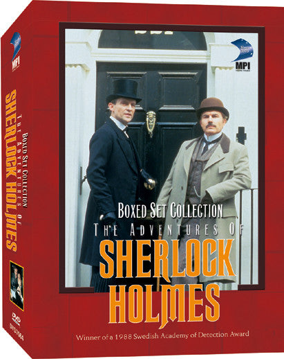 Adventures of Sherlock Homes DVD Boxed Set Collection, The - Box Art