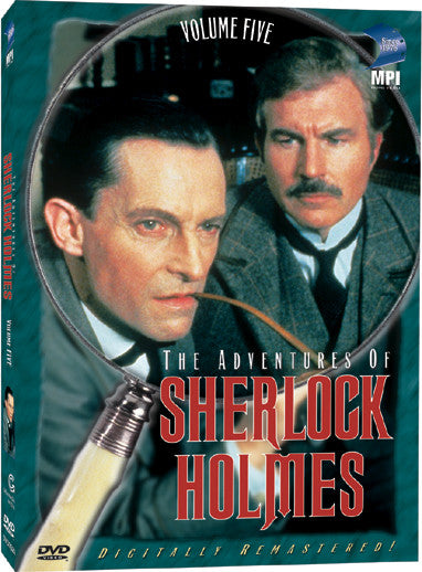 Adventures of Sherlock Holmes: Volume 5, The - Box Art