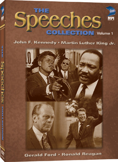 Speeches Collection Volume 1: 2 Disc Set, The - Box Art