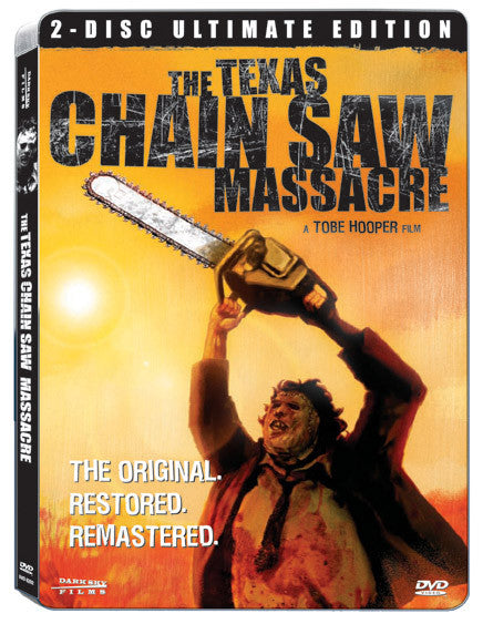 Texas Chain Saw Massacre 2-Disc DVD Ultimate Edition - Box Art