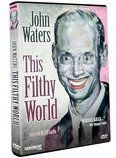 John Waters: This Filthy World - Box Art