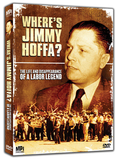 Where is Jimmy Hoffa - Box Art