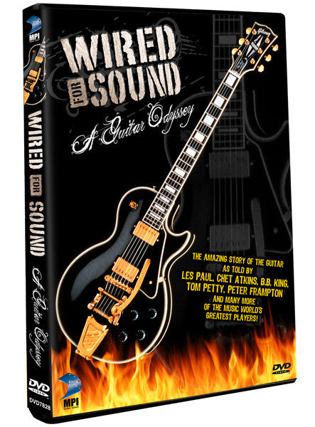 Wired for Sound: A Guitar Odyssey - Box Art