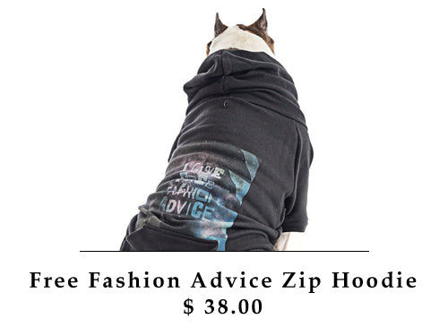 Free Fashion Advice Zip Hoodie