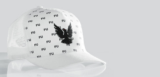 CALIFORNIA MESH HAT WHITE