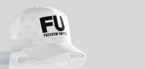 ARKANSAS FU MESH HAT WHITE