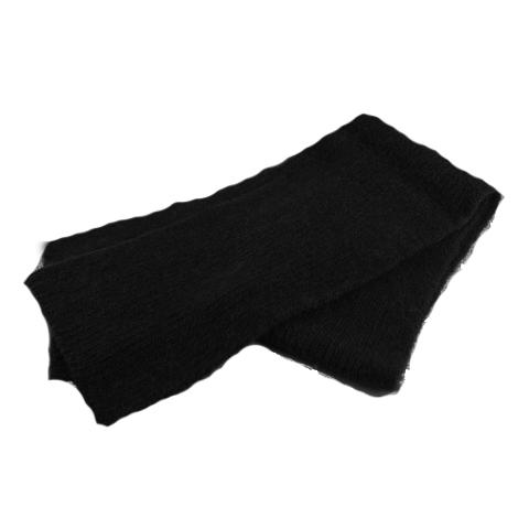 Bison Down Scarf Bison Gear The Buffalo Wool Co. Black