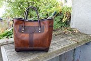 Bison Leather Sportsman's Tote Bag Duluth Pack