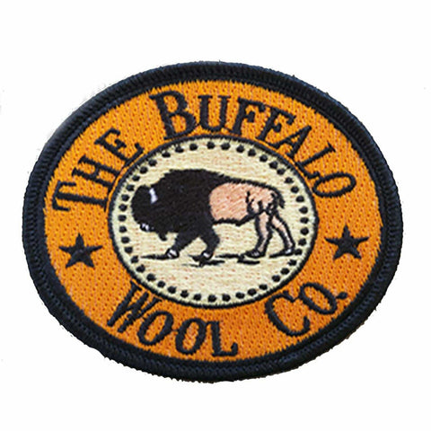 Buffalo Wool Company Embroidered Patch