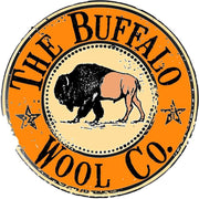 "Bison ""Buffalo"" Stickers Accessories The Buffalo Wool Co. BWC Sticker"