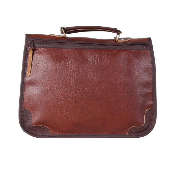 Bison Leather Executive Briefcase Bag The Buffalo Wool Co.