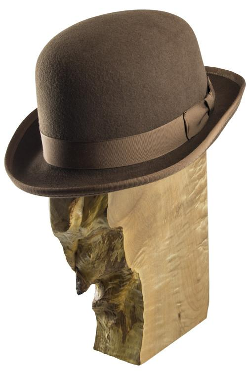 Masterson Derby Bison Felt Hats The Buffalo Wool Co.