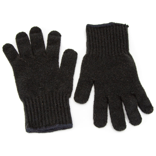 Extreme Gear Bison Down Gloves (Brown or Black) Bison Gear The Buffalo Wool Co. Small Black