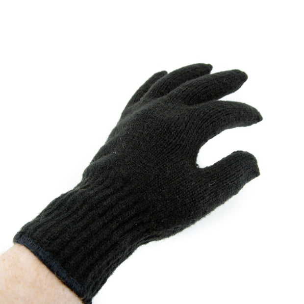 Extreme Gear Bison Down Gloves (Brown or Black) Bison Gear The Buffalo Wool Co.
