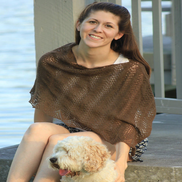 Heaven Wrap - PDF pattern Patterns & Kits The Buffalo Wool Co.