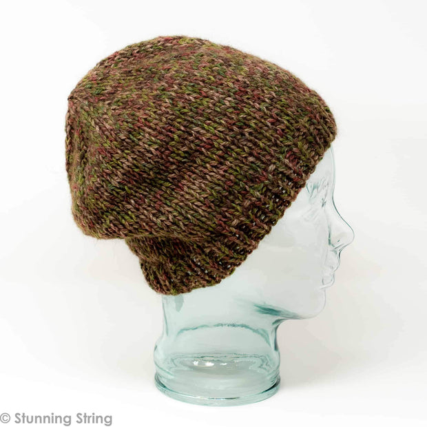 Hunter's Hat Knitting Kit Stunning Buffalo Stunning String Studio