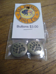 Buttons Accessories The Buffalo Wool Co. Bear paw