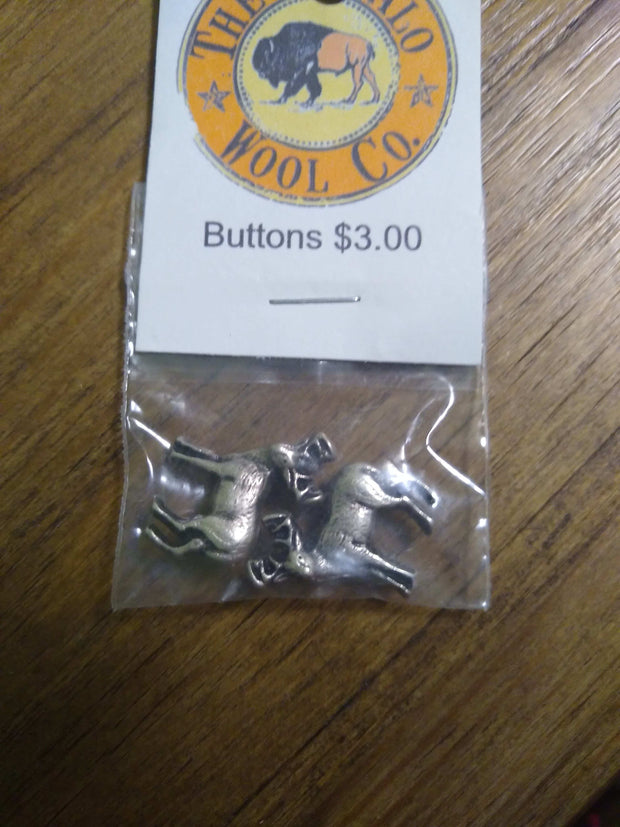 Buttons Accessories The Buffalo Wool Co. Deer