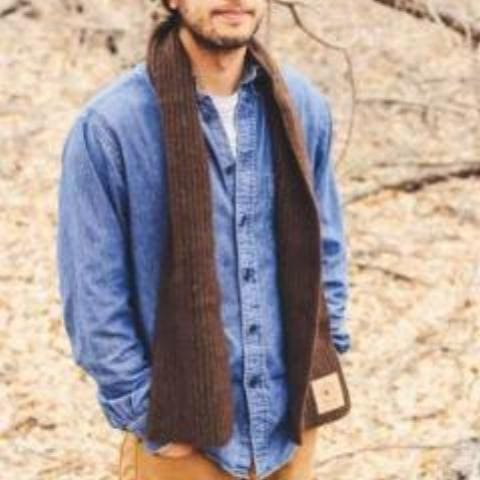 Bison Down Scarf Bison Gear The Buffalo Wool Co.
