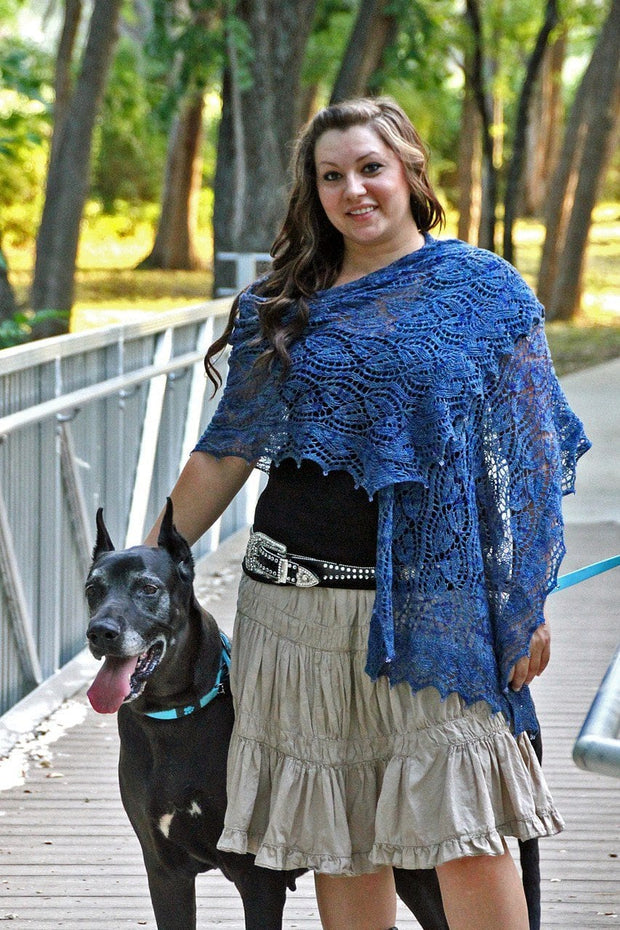 Midsummer Night Shawl - PDF Download File