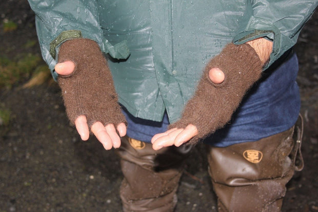 Extreme Gear Bison Down Fingerless Gloves