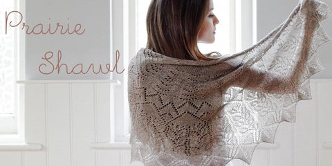 Prairie Shawl Knitting Pattern - PDF