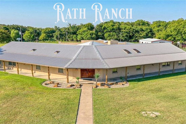 Weekend Getaway at RATH Ranch. (or the Goodnight Country Inn) The Buffalo Wool Co.