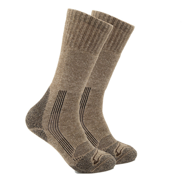 Pro-Gear Technical Boot Bison/Silk Socks Bison Footwear The Buffalo Wool Co. Medium