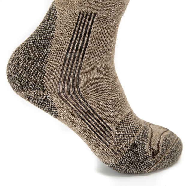 Pro-Gear Technical Boot Bison/Silk Socks Bison Footwear The Buffalo Wool Co.