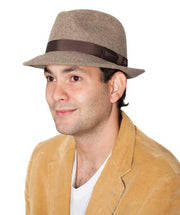 The Sol Fedora Bison Gear The Buffalo Wool Co.