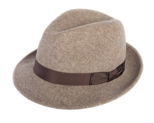 The Sol Fedora Bison Gear The Buffalo Wool Co. Small