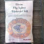 Ultimate Bison Fly Tying Kit Patterns & Kits The Buffalo Wool Co.