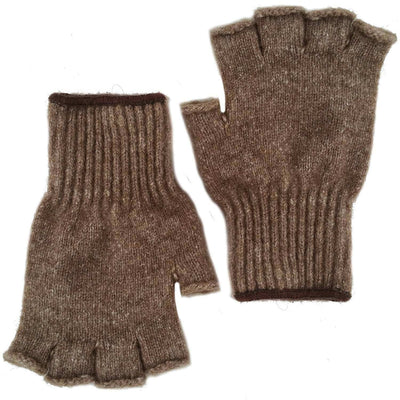 Advantage Gear- Bison/Merino Fingerless Gloves