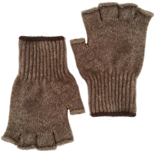 Advantage Gear - Bison/Merino Fingerless Gloves