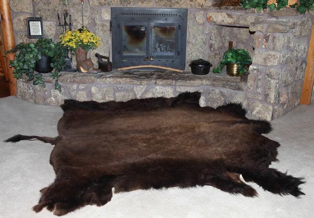 Bison (Buffalo) Hide / Robes Accessories The Buffalo Wool Co.