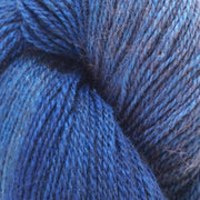 Sexy- Bison/Silk Laceweight Yarn The Buffalo Wool Co. Baby Making Blue