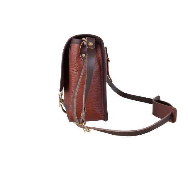 Bison Leather Mini Haversack Bag Duluth Pack