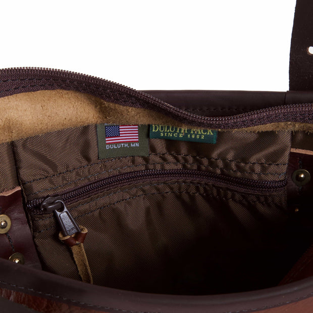 Bison Leather Lakewalk Tote Bag Duluth Pack
