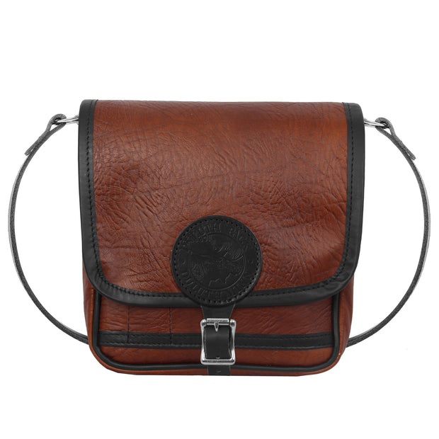 Bison Leather Mini Haversack Bag Duluth Pack Brown