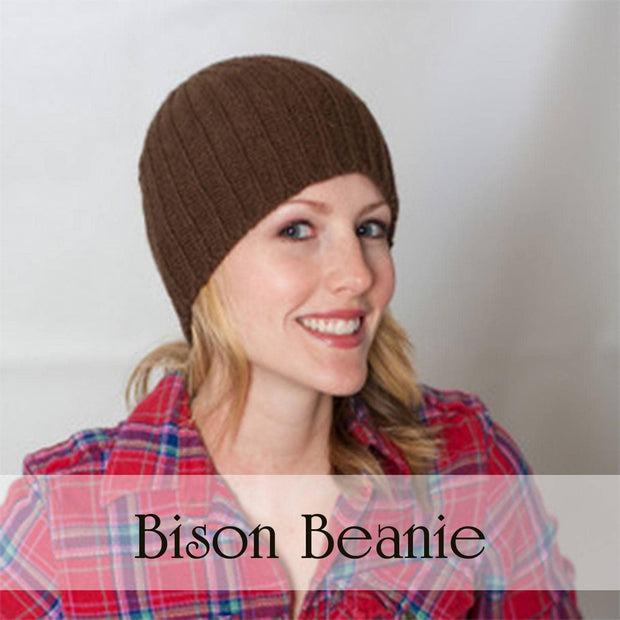 Bison beanie - Brown