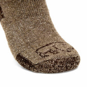 Advantage Trekker Bison/Merino Boot Socks Bison Footwear The Buffalo Wool Co.