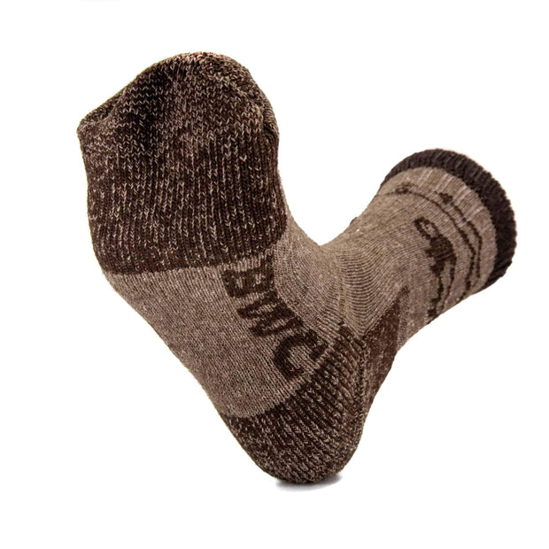 Yellowstone Bison/Merino Crew Socks Bison Footwear The Buffalo Wool Co.