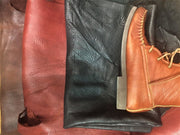 Custom Bison Leather Chukka boots The Buffalo Wool Co.
