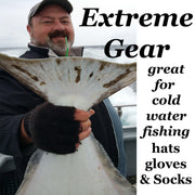 Extreme Gear Bison Down Fingerless Gloves - Black