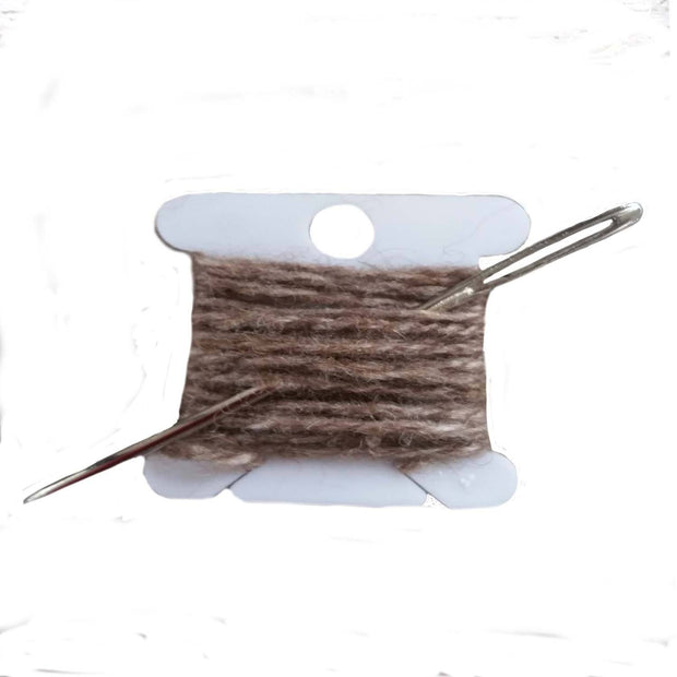 Darning repair Kits The Buffalo Wool Co. Advantage (50% bison 50% wool)