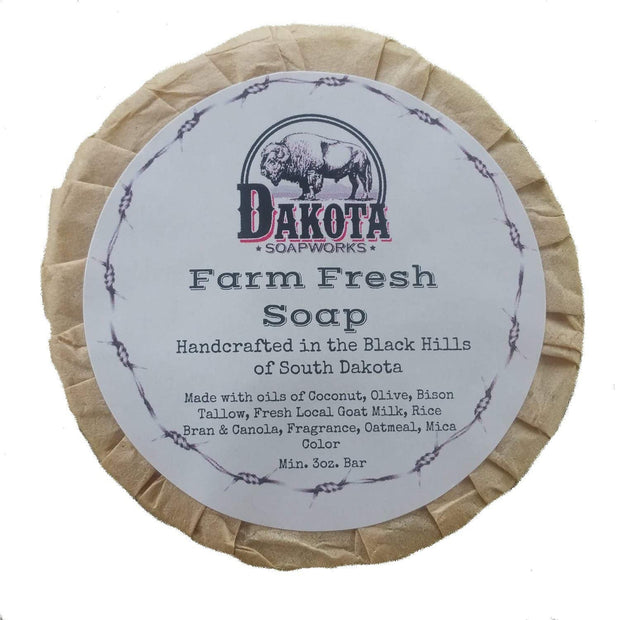 Bison Soap Accessories The Buffalo Wool Co. Farm Fresh