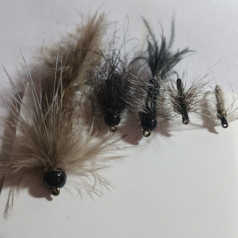 Sample of flies made from the kit